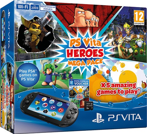 New PS Vita Bundle Arriving Next Week in Europe, Comes with Five Games