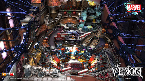 Zen Pinball 2 Venom Table is Now Available