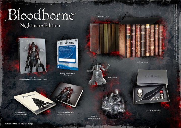Details on the Bloodborne Collector's Edition and Bloodborne Nightmare Edition revealed