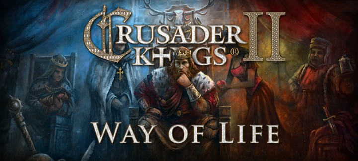 The Crusader Kings 2 Way of Life DLC is due out tomorrow