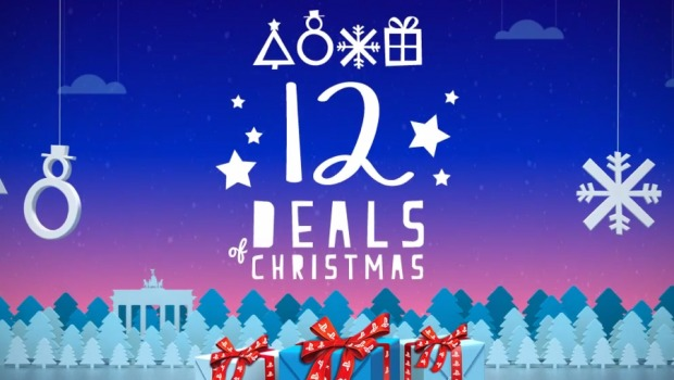 Whether your naughty or nice grab a deal or two during the PSN's 12 deals of Christmas
