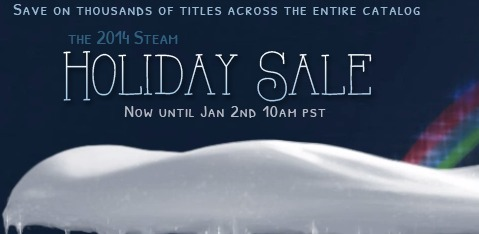 The Steam Holiday Sale is Now Live