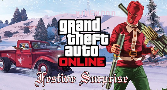 Grand Theft Auto Online Holiday Gift Revealed