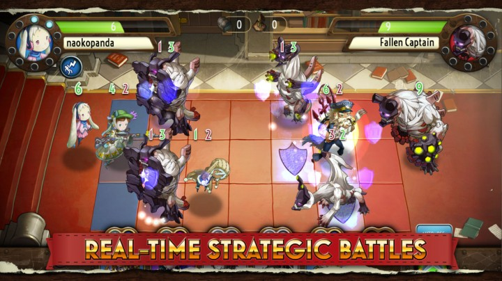 Heavenstrike Rivals – new mobile strategy RPG by Square-Enix