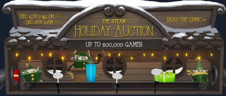 Steam Holiday Auction Disastrous