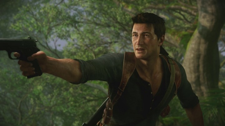 Troy Baker voicing Nathan Drake's older brother in Uncharted 4