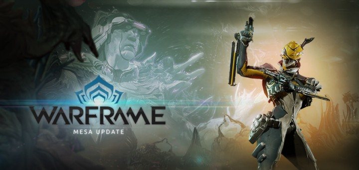 Warframe Mesa Update Now Live on PS4