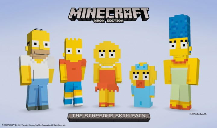 The Simpsons DLC Confirmed for Minecraft